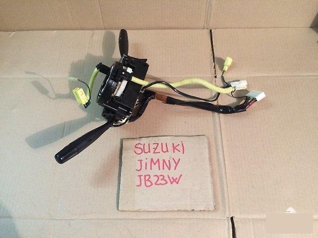 Блок подрулевых переключателей Suzuki Jimny JB23W K6A 2002г. (б/у)