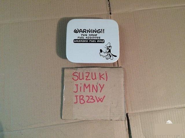 Лючок бензобака Suzuki Jimny JB23W K6A 2002г. (б/у)