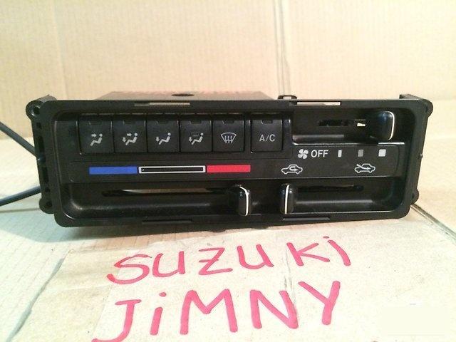 Блок управления климат-контролем Suzuki Jimny JB23W K6A 2002г. (б/у)
