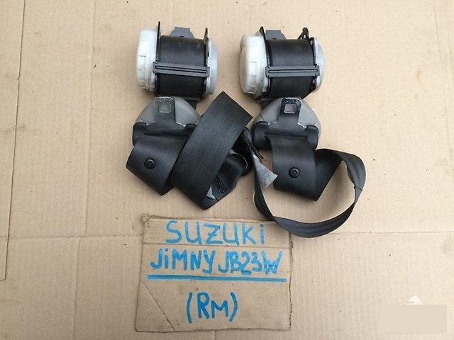 Ремень безопасности Suzuki Jimny JB23W K6A 2002г. задний (б/у)