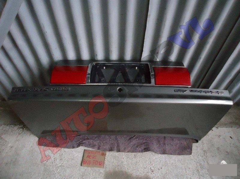 Крышка багажника Toyota Sprinter AE95 4AFE (б/у)