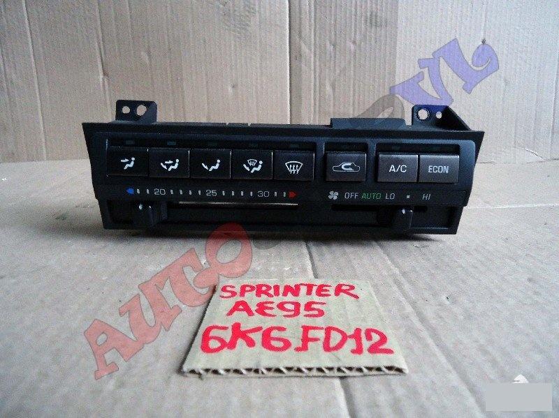 Блок управления климат-контролем Toyota Sprinter AE95 4AFE (б/у)