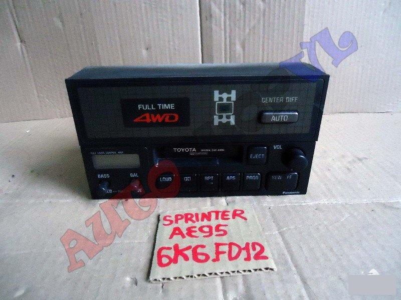 Блок управления 4wd Toyota Sprinter AE95 4AFE (б/у)