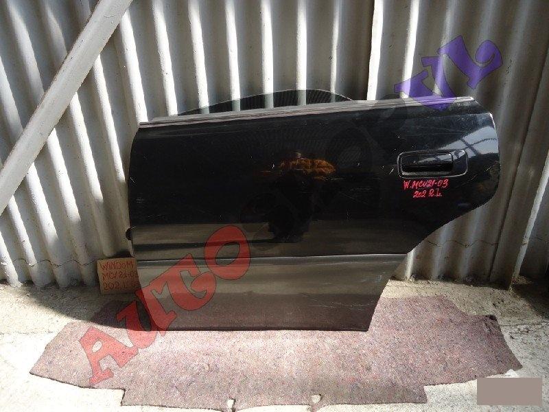 Дверь Toyota Windom MCV21 2MZFE 2000г. задняя левая (б/у)