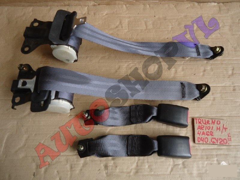 Ремень безопасности Toyota Sprinter Trueno AE101 задний (б/у)