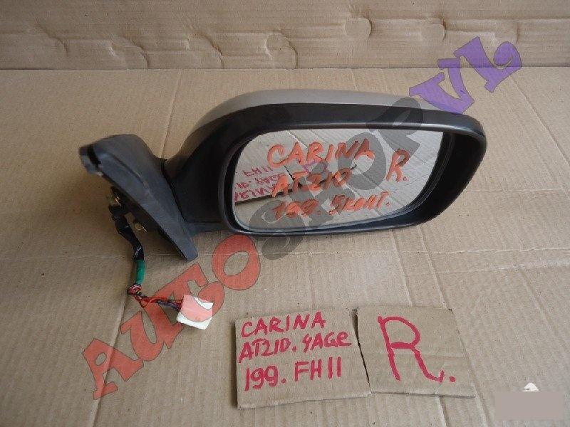 Зеркало Toyota Carina AT210 4AGE переднее правое (б/у)