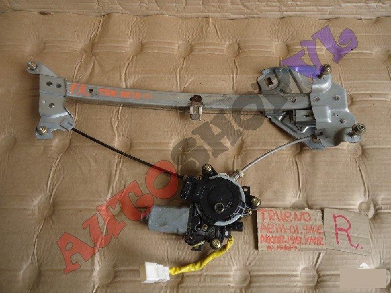 Стеклоподъемник Toyota Sprinter Trueno AE111 4AGE передний правый (б/у)