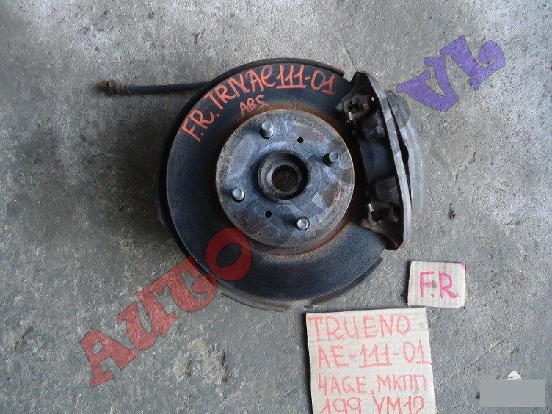 Ступица Toyota Sprinter Trueno AE111 4AGE передняя правая (б/у)
