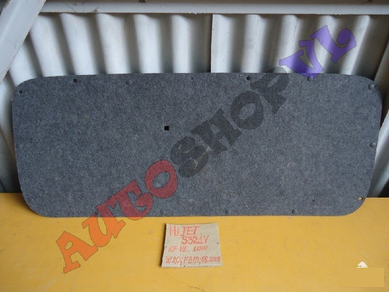 Обшивка крышки багажника Daihatsu Hijet Cargo S321V KFVE (б/у)