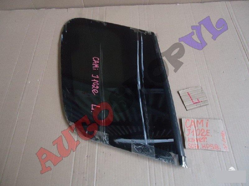 Стекло собачника Toyota Cami J102E K3VET 08.2002г. заднее левое (б/у)