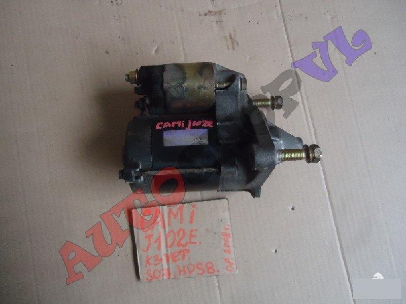 Стартер Toyota Cami J102E K3VET 08.2002г. (б/у)