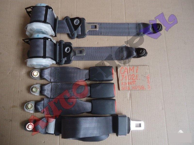 Ремень безопасности Toyota Cami J102E K3VET 08.2002г. задний (б/у)