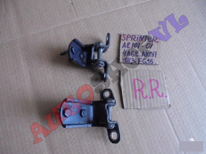 Петля дверная Toyota Sprinter AE101 4AGE задняя правая (б/у)