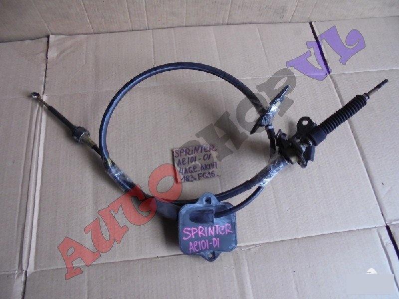 Трос переключения акпп Toyota Sprinter AE101 4AGE (б/у)