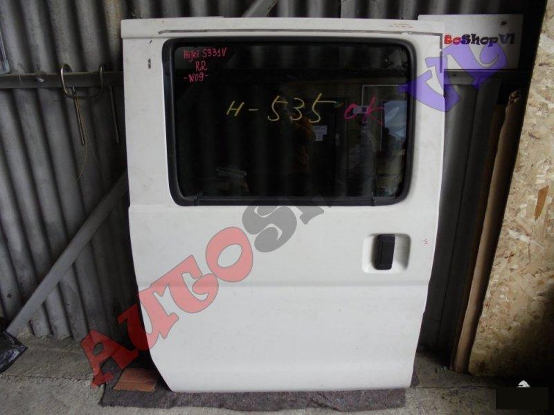 Дверь Daihatsu Hijet Cargo S321V KFVE задняя правая (б/у)