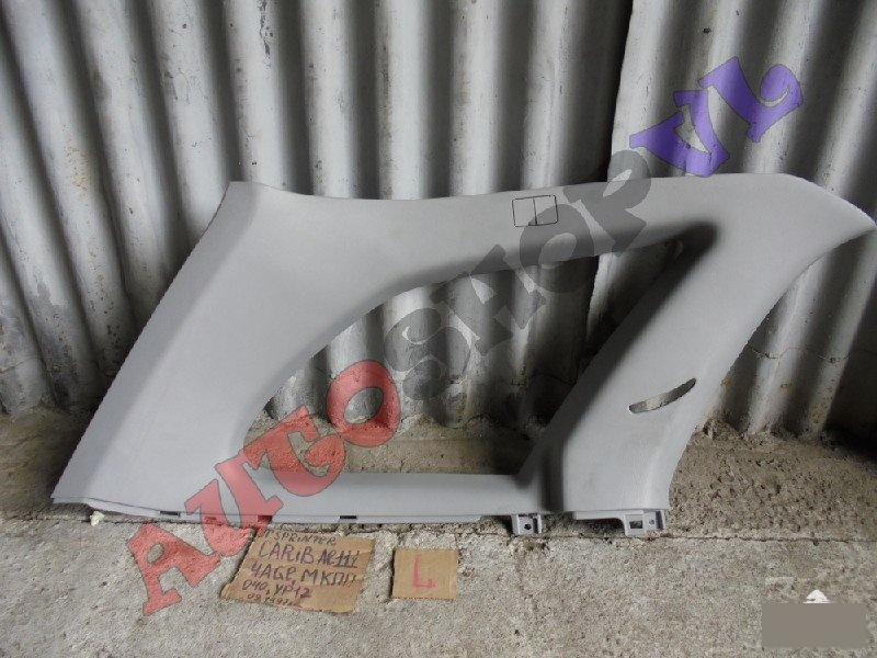 Обшивка багажника Toyota Sprinter Carib AE111 4AGE 09.1997г. задняя левая верхняя (б/у)
