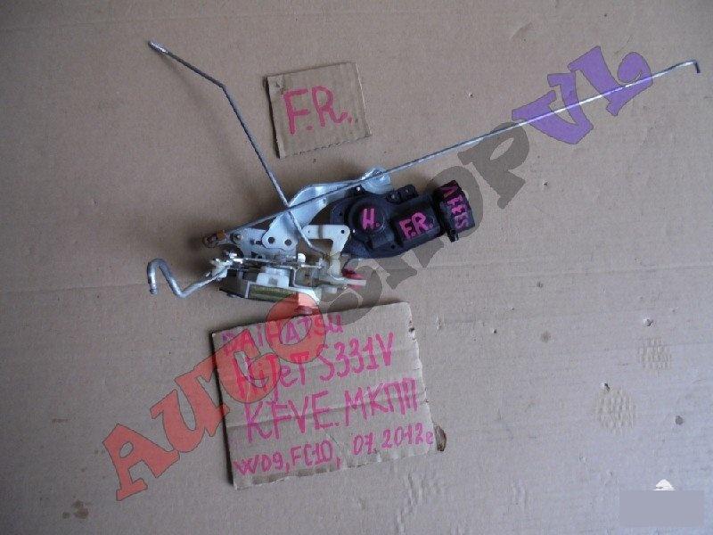 Замок двери Daihatsu Hijet Cargo S331V KFVE 07.2012г. передний правый (б/у)