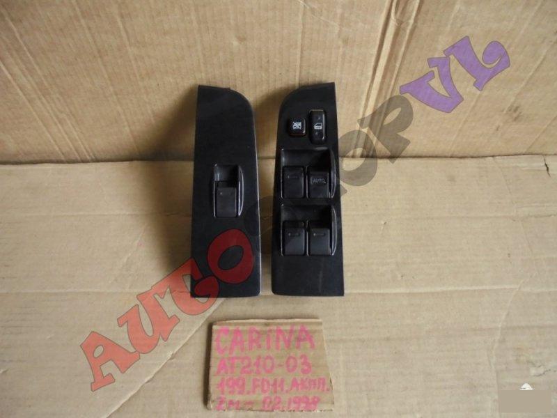 Блок упр. стеклоподьемниками Toyota Carina AT210 4AGE передний (б/у)