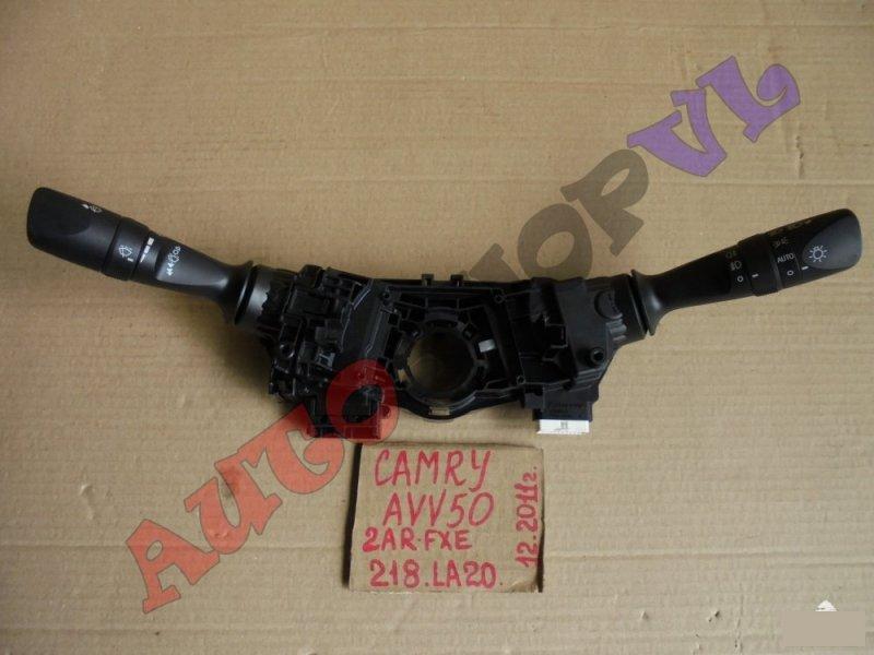 Блок подрулевых переключателей Toyota Camry AVV50 2ARFXE 12.2011г. (б/у)