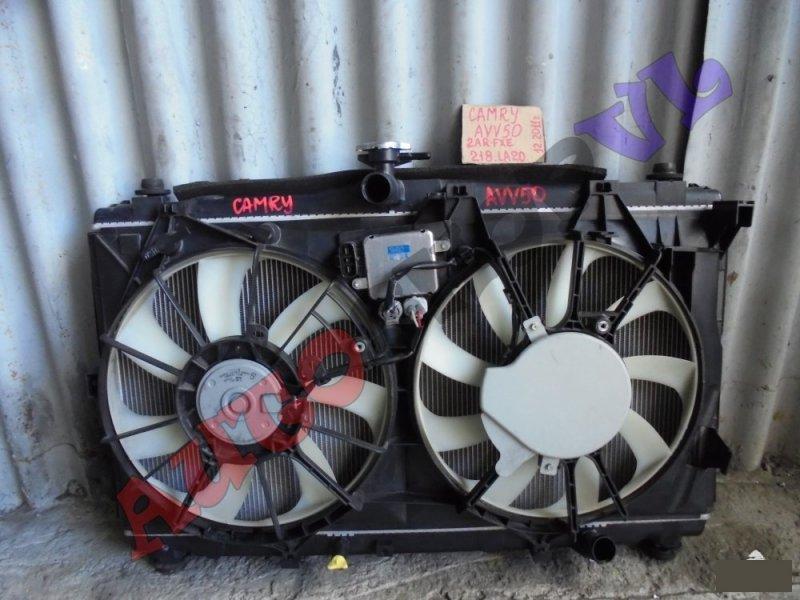Радиатор основной Toyota Camry AVV50 2ARFXE 12.2011г. (б/у)