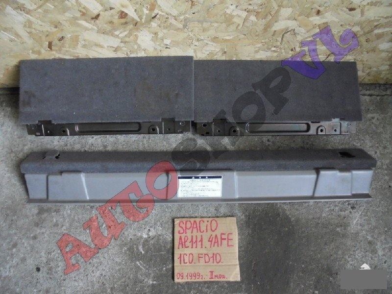 Обшивка багажника Toyota Corolla Spacio AE111 4AFE 09.1999г. (б/у)