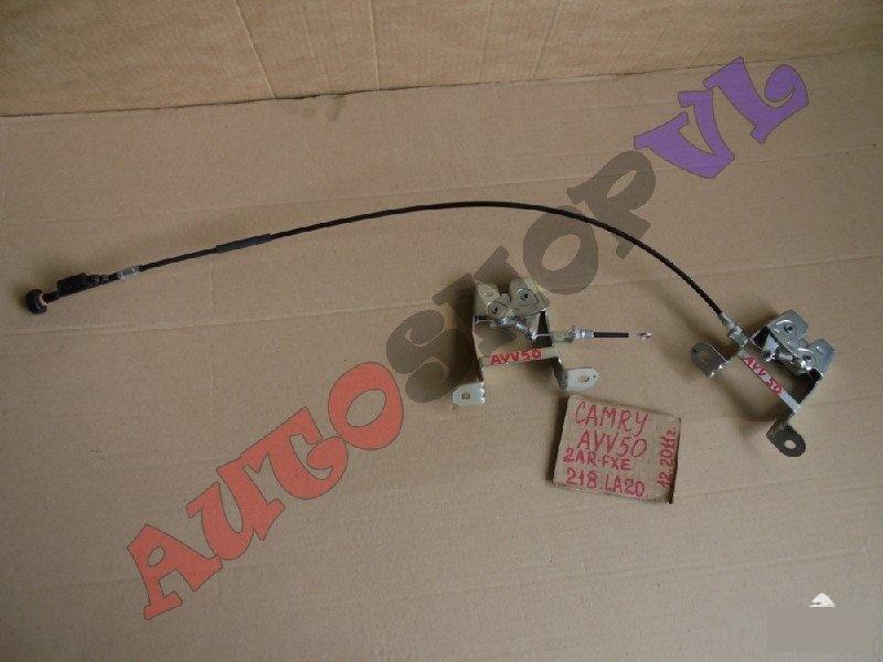 Замок спинки сиденья Toyota Camry AVV50 2ARFXE 12.2011г. (б/у)