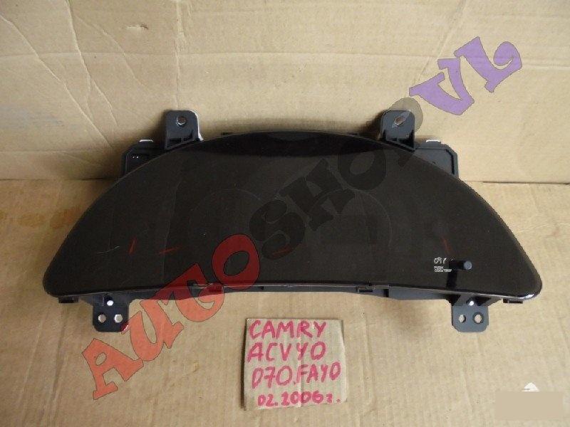Спидометр Toyota Camry ACV40 2AZFE 02.2006г. (б/у)