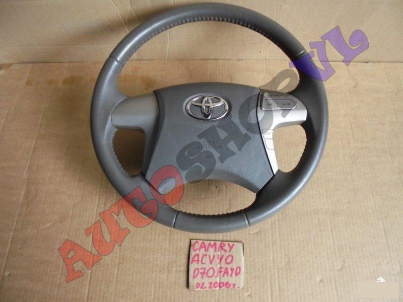 Руль с airbag Toyota Camry ACV40 2AZFE 02.2006г. (б/у)