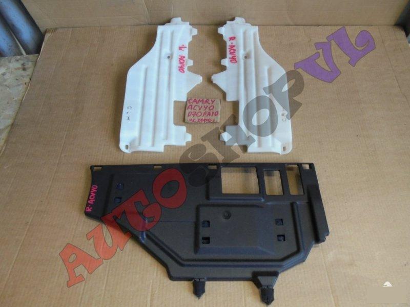 Пластик салона Toyota Camry ACV40 2AZFE 02.2006г. (б/у)