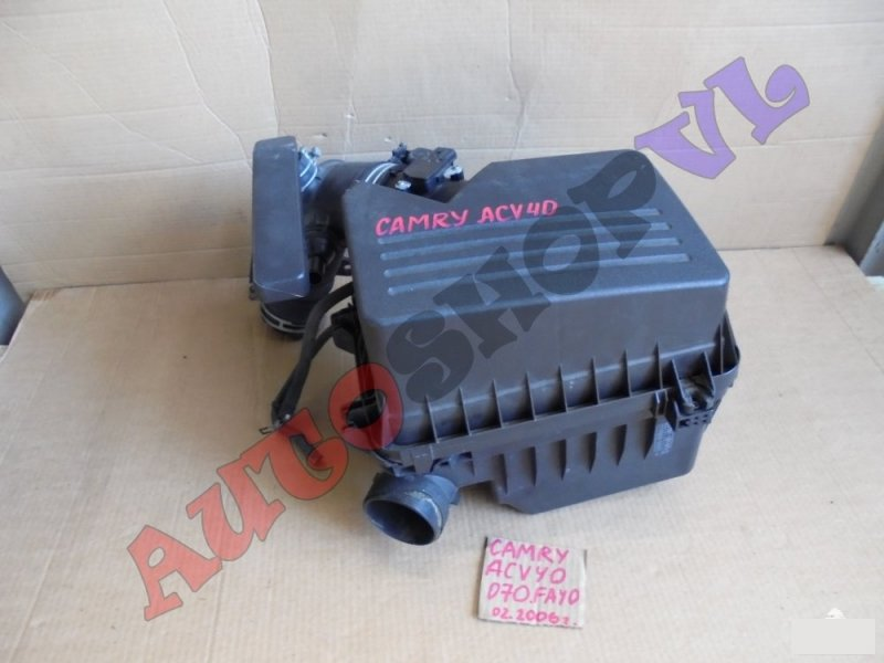 Гофра воздушного фильтра Toyota Camry ACV40 2AZFE 02.2006г. (б/у)