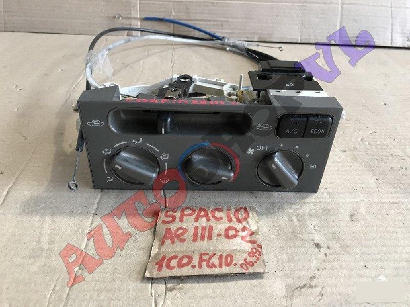 Блок управления климат-контролем Toyota Corolla Spacio AE111 4AFE 06.1999г. (б/у)