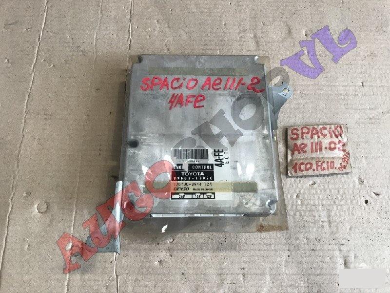 Блок управления efi Toyota Corolla Spacio AE111 4AFE 06.1999г. (б/у)