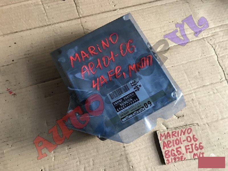 Блок управления efi Toyota Sprinter Marino AE101 4AFE с 04.1997г. (б/у)