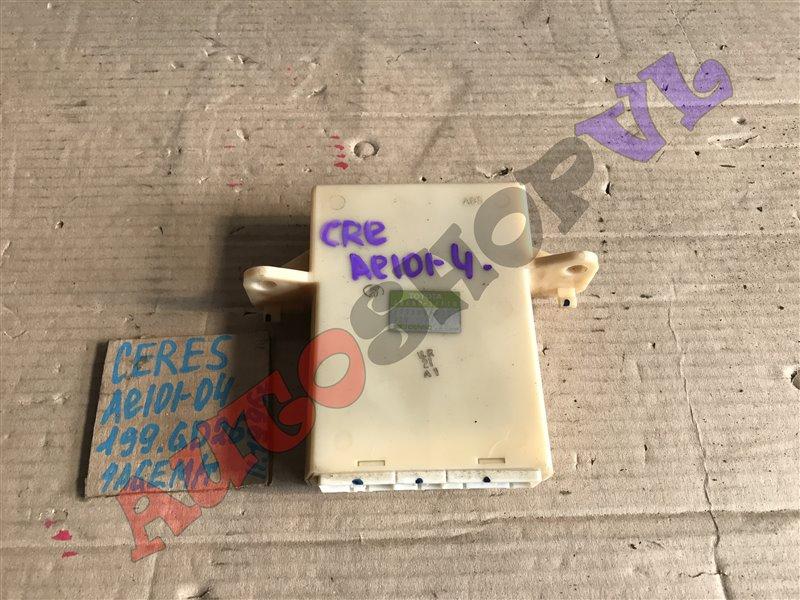 Блок управления кондиционером Toyota Corolla Ceres AE101 4AGE 11.1996 (б/у)