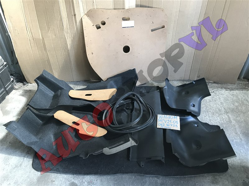 Обшивка багажника Toyota Windom MCV21 2MZFE 03.2000 (б/у)