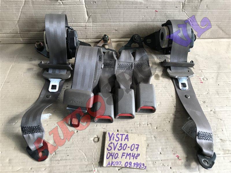 Ремень безопасности Toyota Vista SV30 задний (б/у)