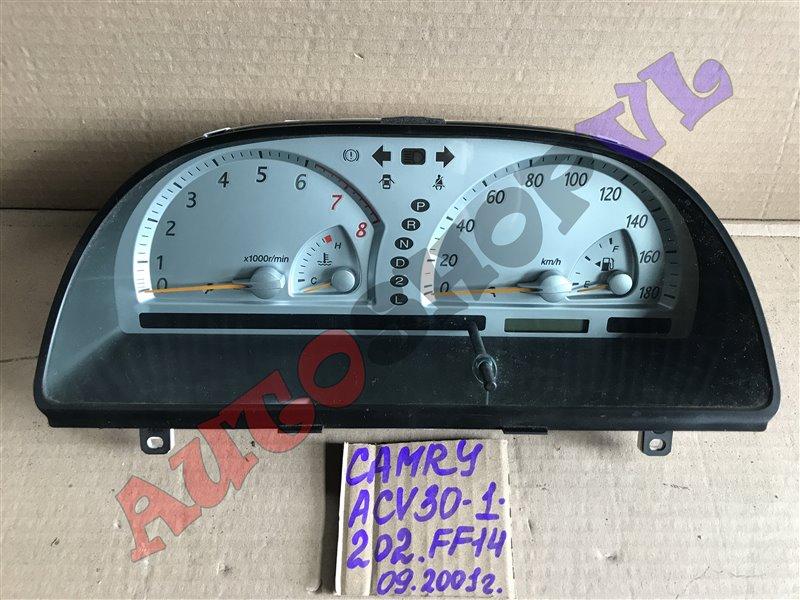 Спидометр Toyota Camry ACV30 2AZFE 09.2001 (б/у)