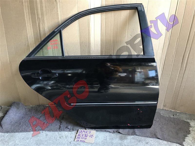 Дверь Toyota Camry ACV30 2AZFE 09.2001 задняя правая (б/у)