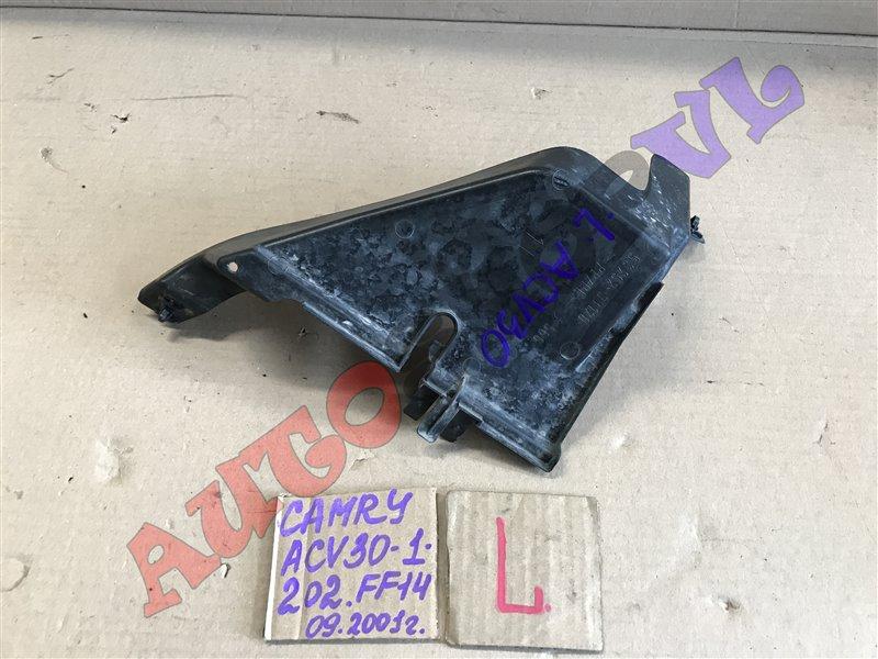 Защита радиатора Toyota Camry ACV30 2AZFE 09.2001 левая (б/у)