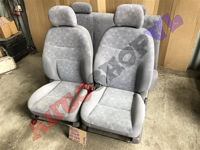 Сидение Toyota Prius NHW10 1NZFXE 11.1999 (б/у)