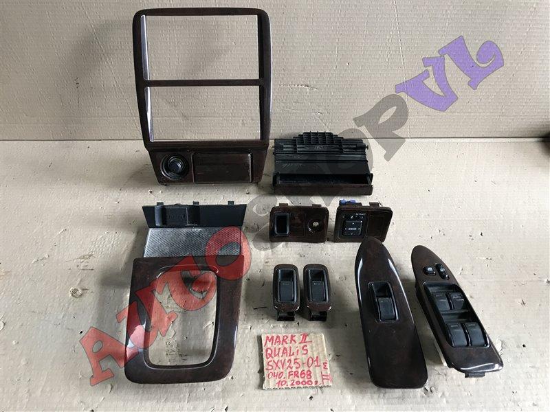 Пластик салона Toyota Mark Ii Qualis SXV25 5SFE 10.2000 (б/у)