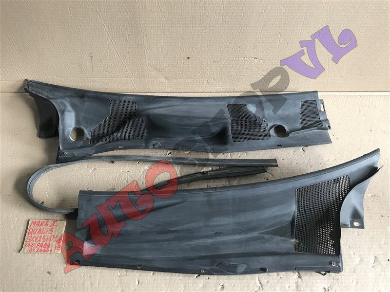 Решетка под дворники Toyota Mark Ii Qualis SXV25 5SFE 10.2000 (б/у)
