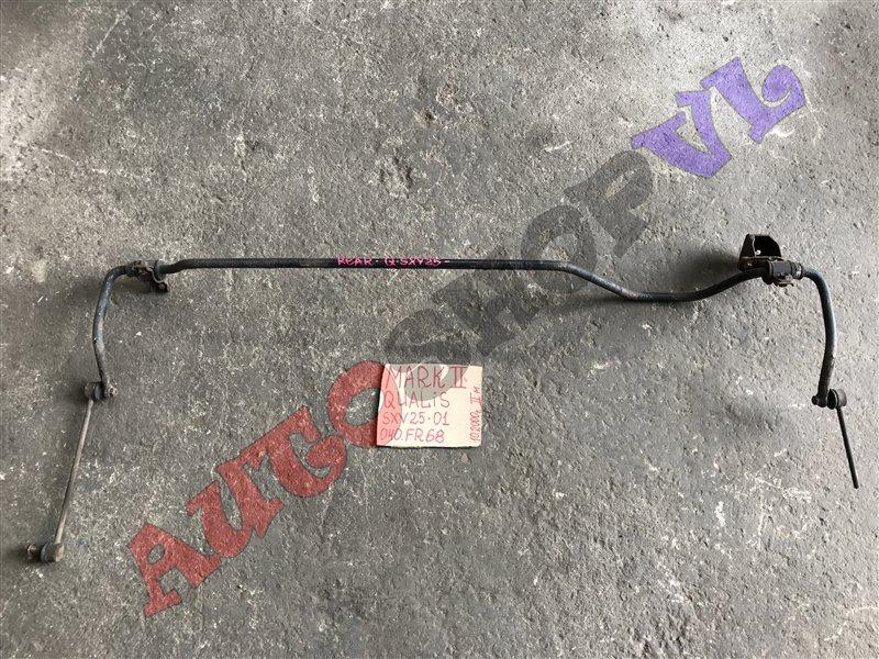 Стабилизатор Toyota Mark Ii Qualis SXV25 5SFE 10.2000 задний (б/у)