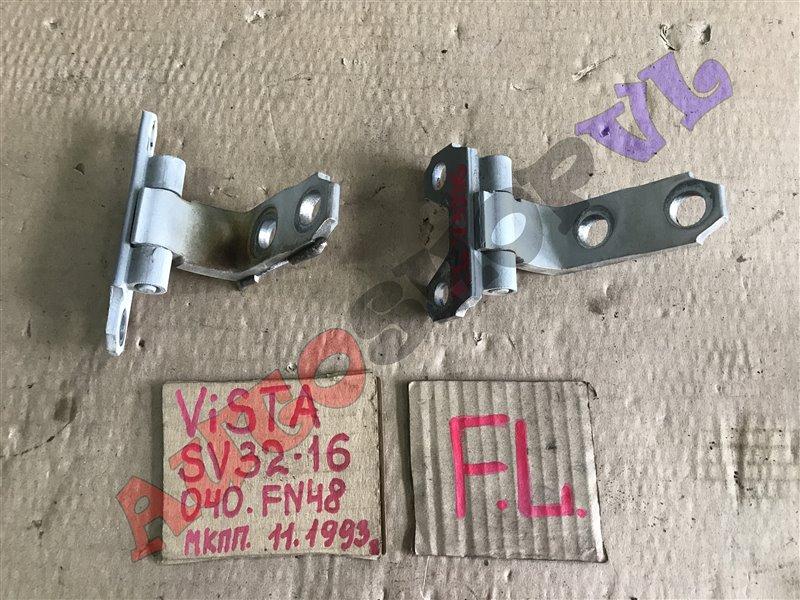 Петля дверная Toyota Vista SV30 передняя левая (б/у)