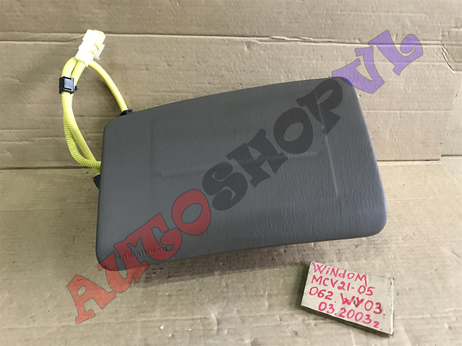 Airbag пассажирский Toyota Windom MCV21 2MZFE 03.2000 (б/у)