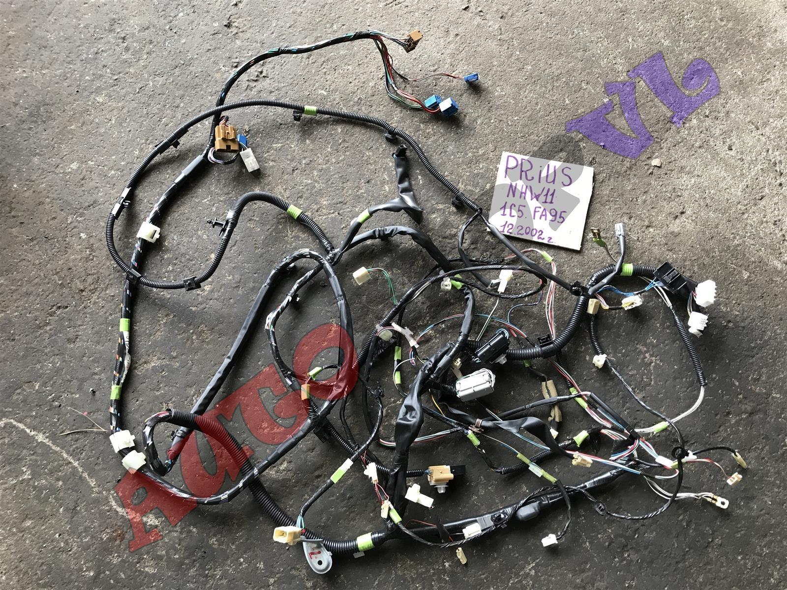 Электропроводка салона Toyota Prius NHW11 1NZFXE 12.2002 левая (б/у)