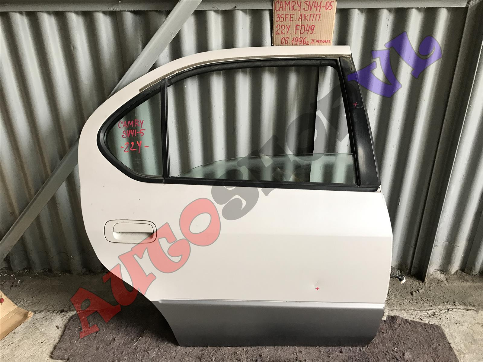 Дверь Toyota Camry SV40 задняя правая (б/у)
