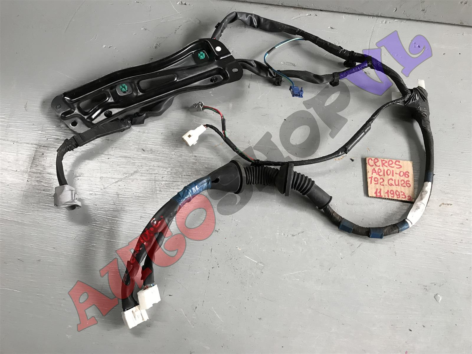 Проводка двери Toyota Corolla Ceres AE101 передняя правая (б/у)