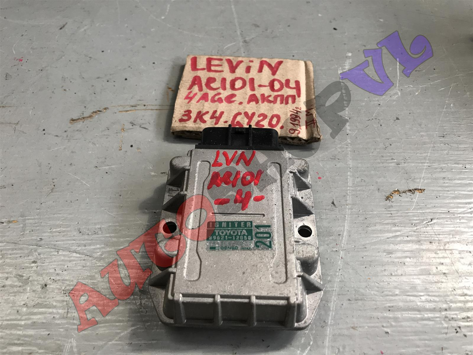 Игнитор блока розжига Toyota Corolla Levin AE101 4AGE (б/у)
