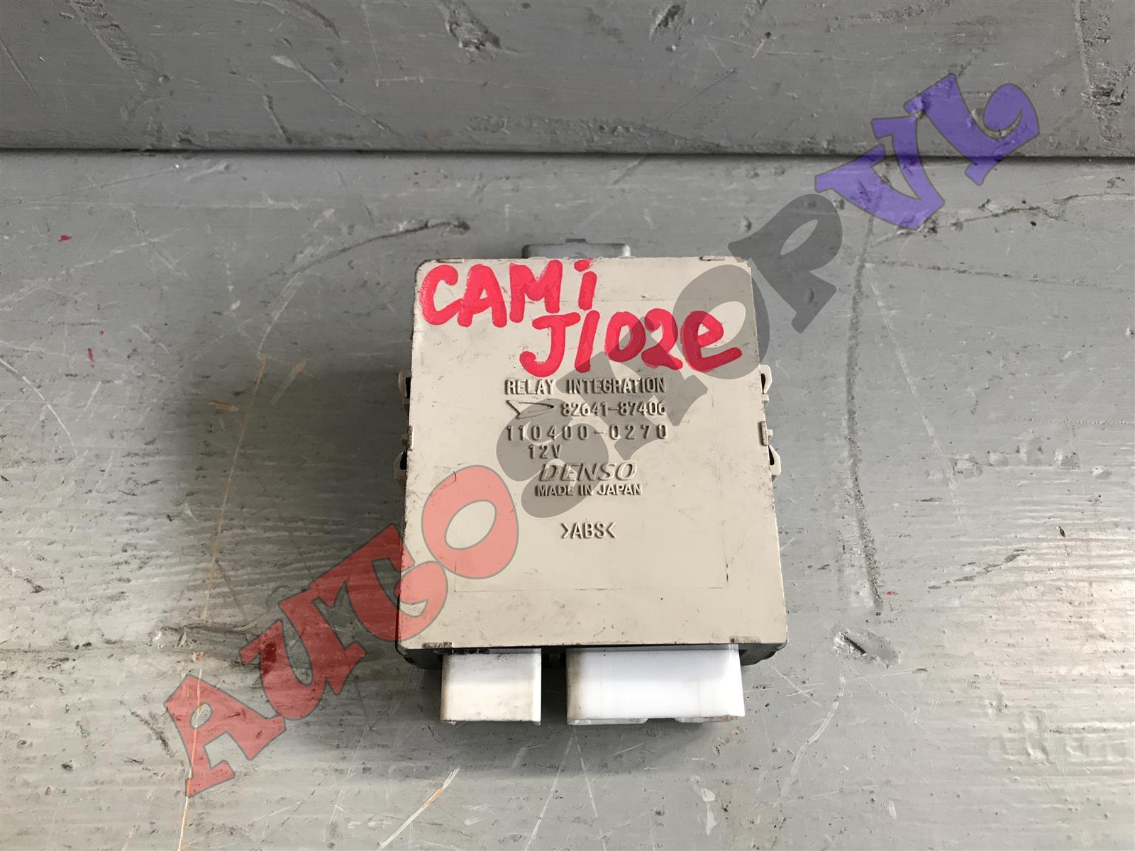 Электронный блок Toyota Cami J102E K3VET 08.2002г. (б/у)